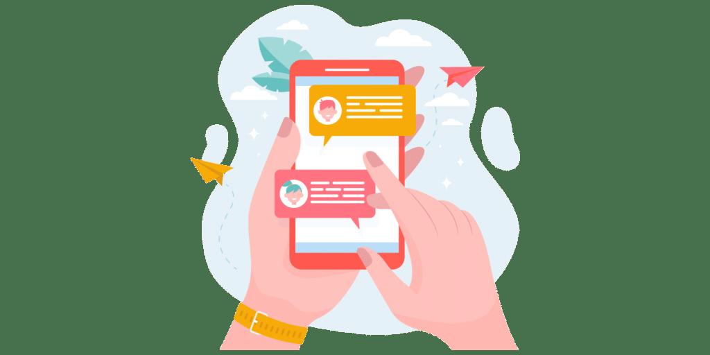 Limpact sur les consommateurs est tres fort avec le marketing par SMS