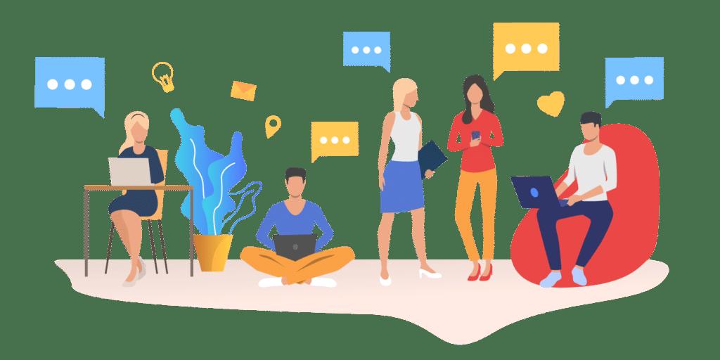 Communication en interne pensez aux envois de SMS 1 2