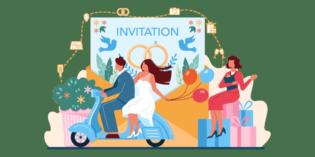 Cette agence de wedding planner fait des envois groupes de SMS